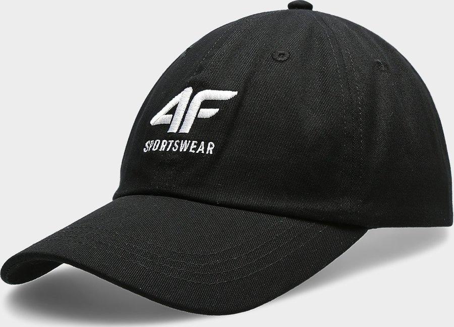 Černá pánská kšiltovka 4F - velikost L