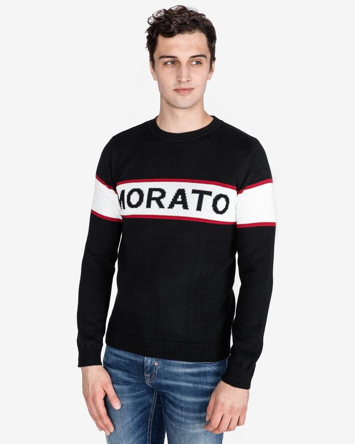 Černý pánský svetr Antony Morato