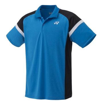 Modré dětské chlapecké nebo dívčí funkční tričko s krátkým rukávem Yonex - velikost 128