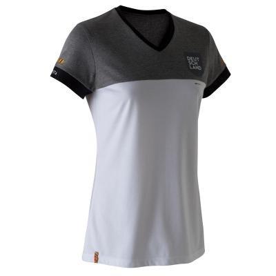 """Bílo-šedý fotbalový dres """"Německá reprezentace"""", Kipsta - velikost XL"""