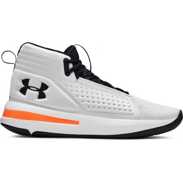 Bílé pánské basketbalové boty Under Armour