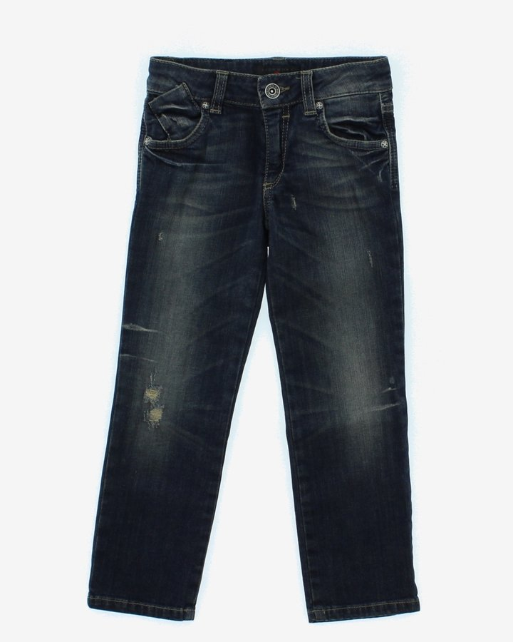 Modré dívčí džíny John Richmond - velikost 134