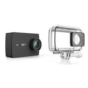 Černá outdoorová kamera 4K+ Action, YI Technology