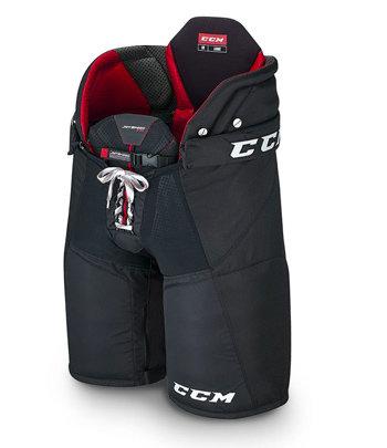 Modré hokejové kalhoty - junior CCM - velikost XL