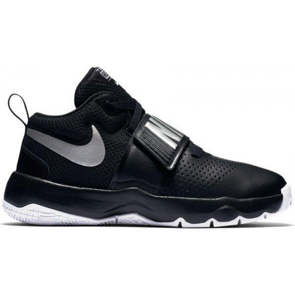 Černé dětské basketbalové boty Nike - velikost 38,5 EU
