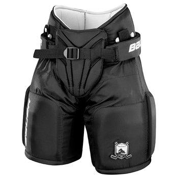 Černé dětské brankářské hokejové kalhoty Bauer