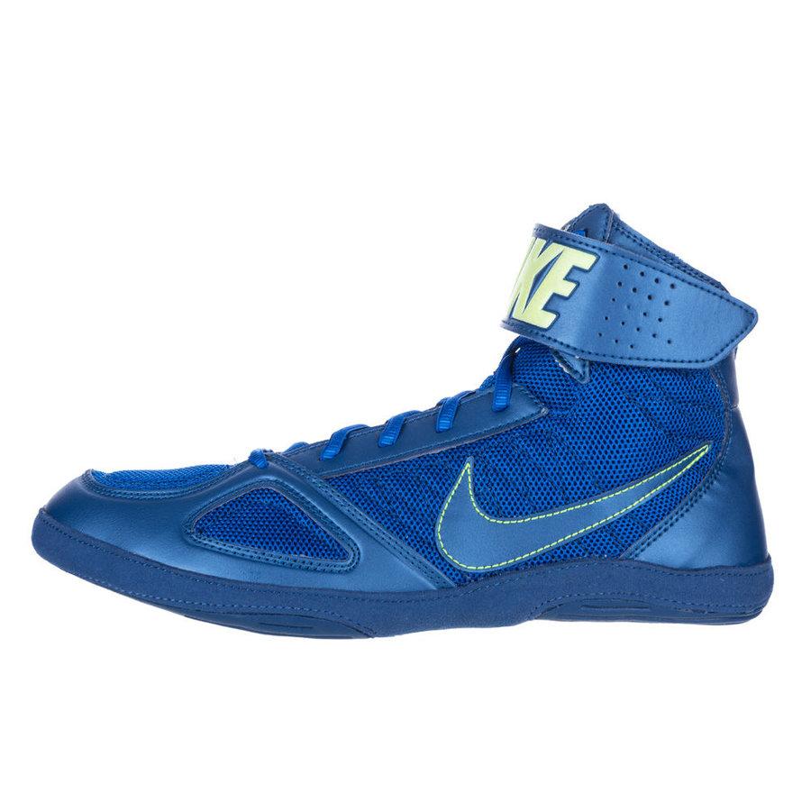 Modré boxerské boty Takedown, Nike
