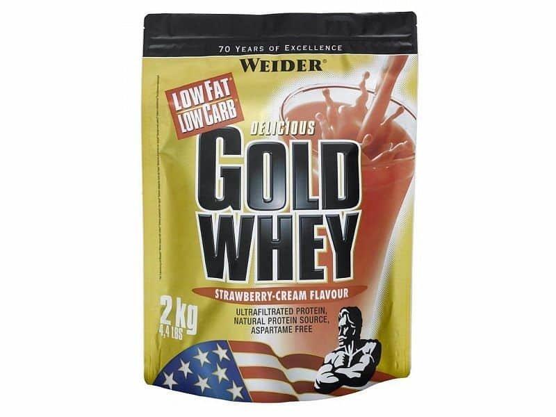 Protein - Syrovátkový protein Gold Whey 2kg - VÝPRODEJ čokoláda