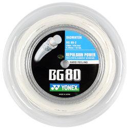 Badmintonový výplet Micron BG80, Yonex - průměr 0,68 mm