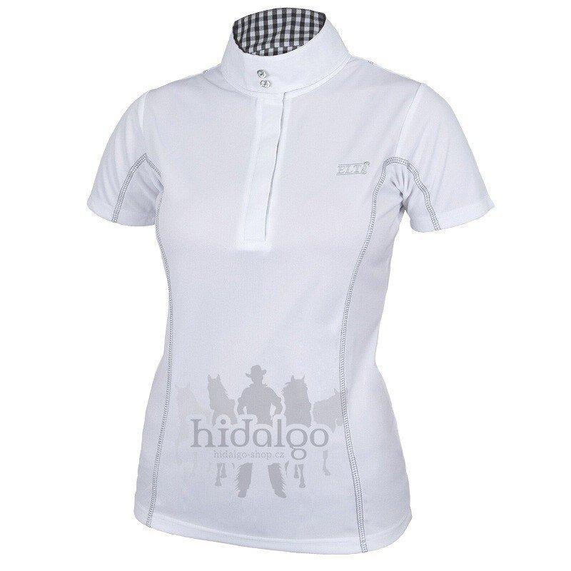 Bílé závodní dámské jezdecké tričko Lydia, Waldhausen