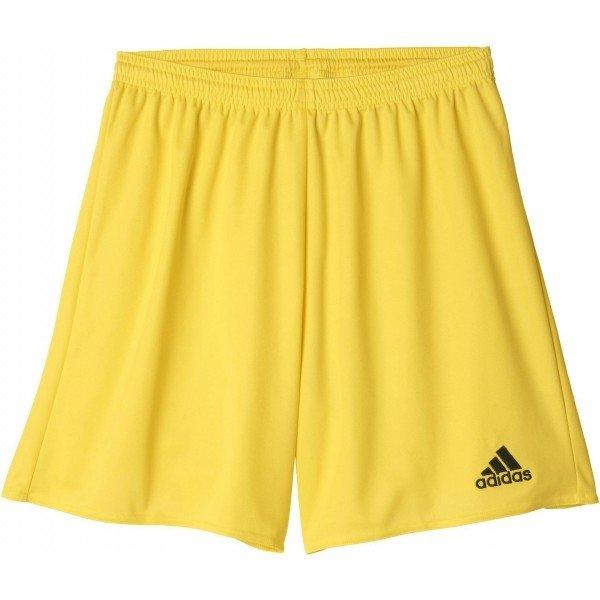 Žluté pánské fotbalové kraťasy Adidas