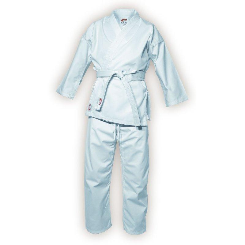 Bílé kimono na karate Spokey - velikost 130