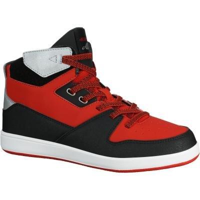 Černo-červené dětské basketbalové boty BBall 500, Tarmak