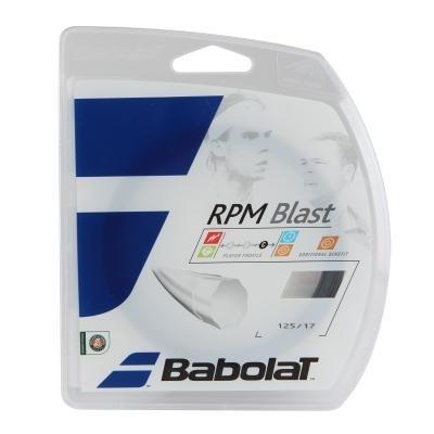 Černý tenisový výplet Babolat - průměr 1,25 mm