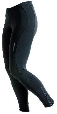 Černé dlouhé dámské cyklistické kalhoty Axon - velikost L