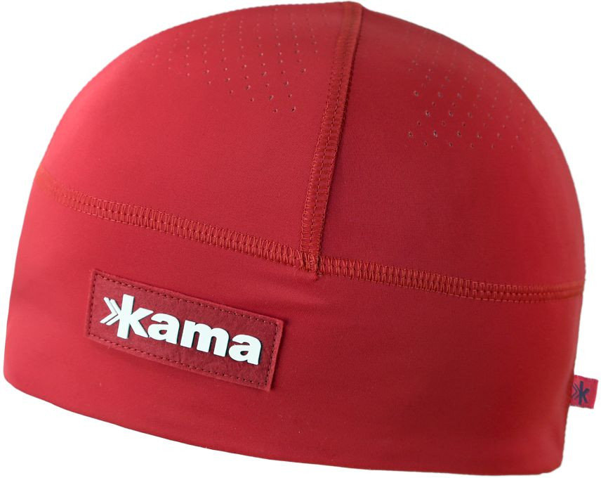 Červená běžecká čepice A87 104, Kama - velikost M