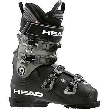 Černo-šedé pánské lyžařské boty Head - velikost vnitřní stélky 26 cm