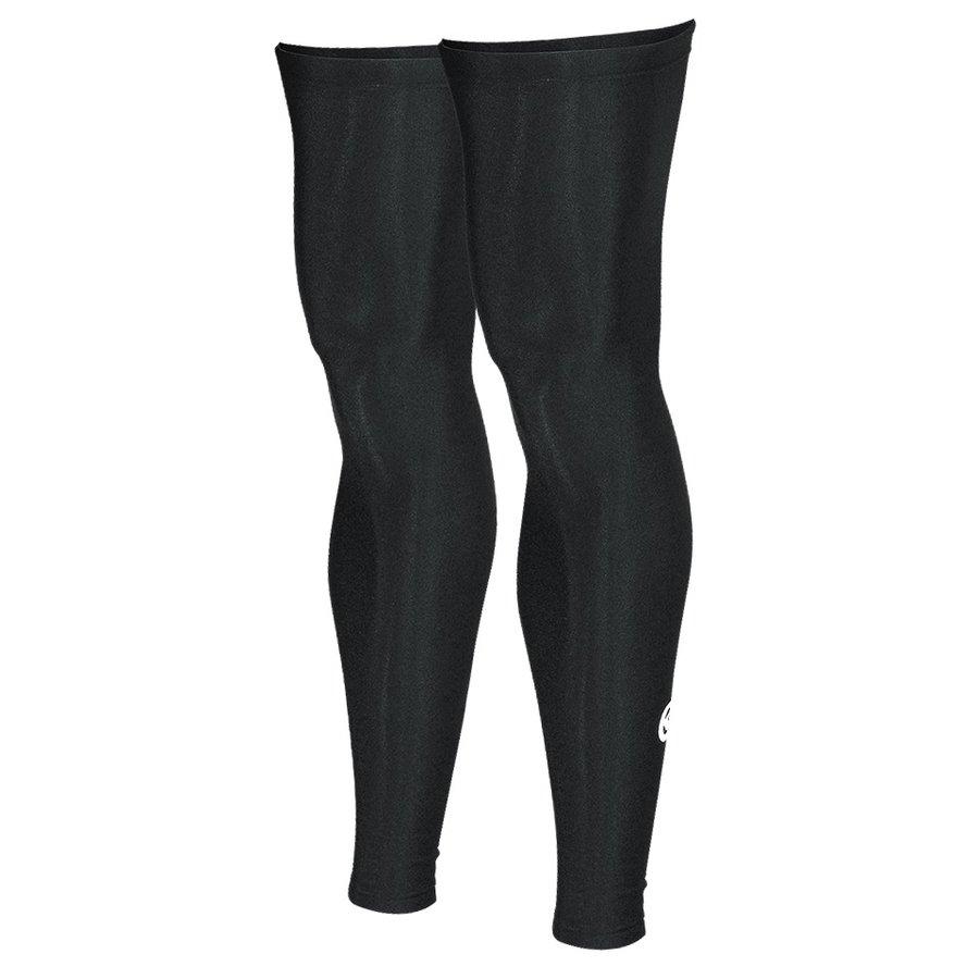 Černé cyklistické návleky na nohy Kellys