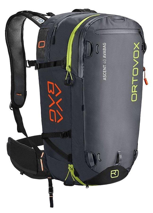 Černý lavinový skialpový batoh Ortovox - objem 40 l