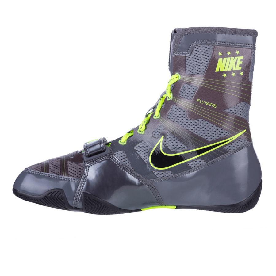 Šedé boxerské boty HyperKO, Nike - velikost 45,5 EU