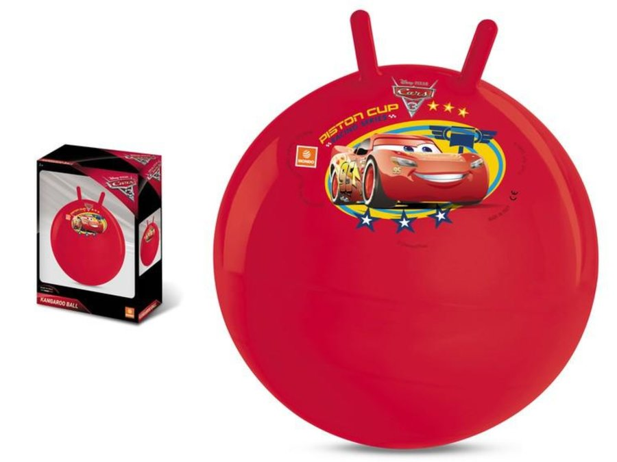 """Červený skákací míč """"Auta"""", Mondo - průměr 50 cm"""