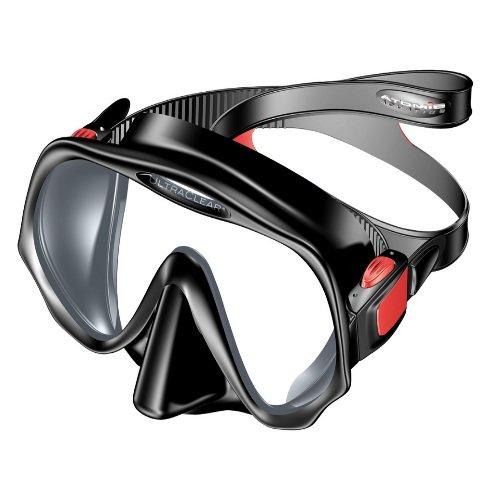 Černá potápěčská maska Atomic Aquatics