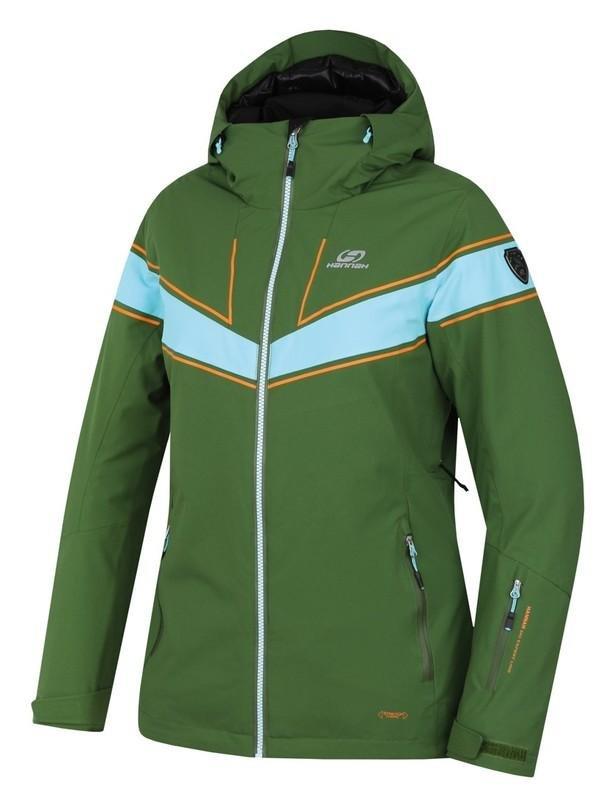 Modro-zelená dámská lyžařská bunda Hannah