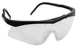 Černé ochranné brýle na squash JET, Wilson