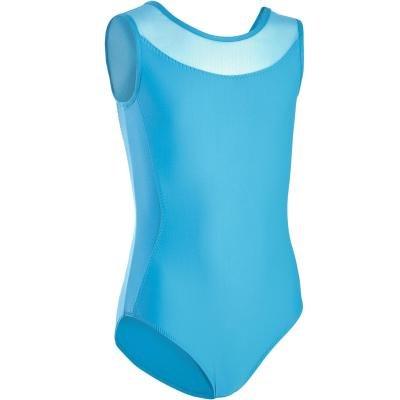 Modrý dívčí baletní trikot Domyos