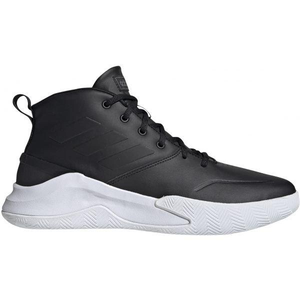 Černé pánské basketbalové boty Adidas