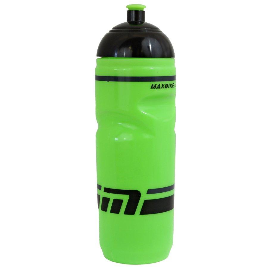 Zelená cyklistická láhev na pití Maxbike - objem 0,8 l