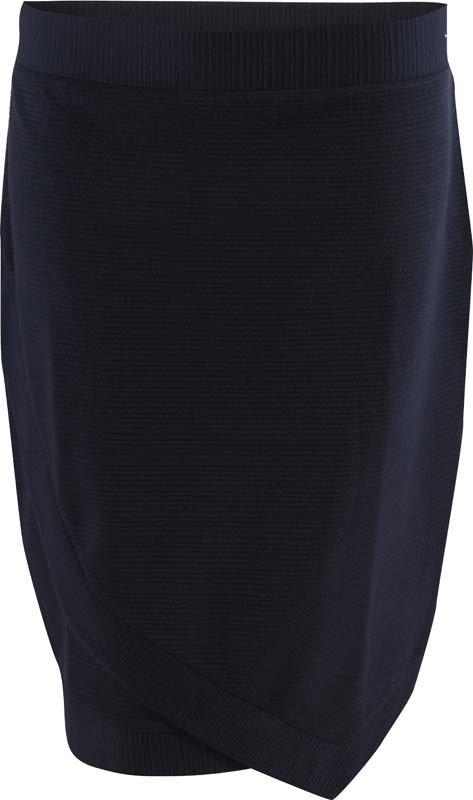 Bílo-černá dámská sukně MARINE