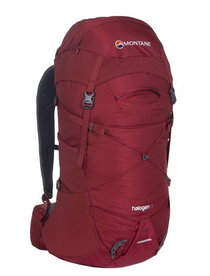 Červený turistický batoh Montane - objem 33 l