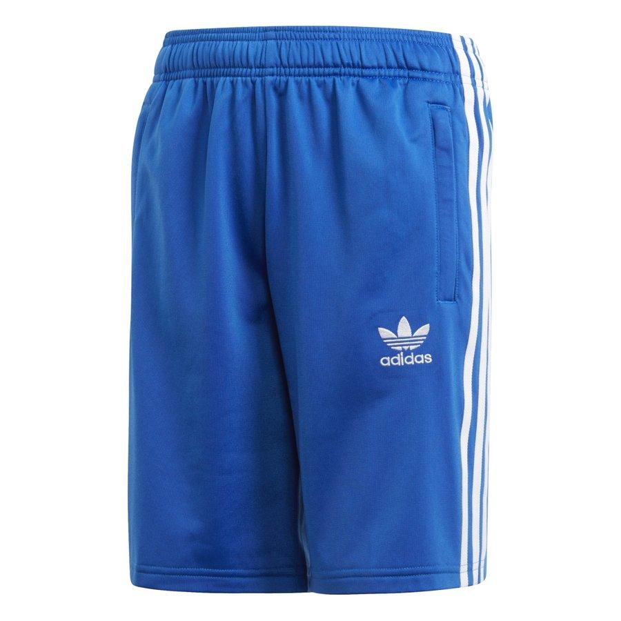 Modré dětské fotbalové kraťasy Adidas - velikost 134
