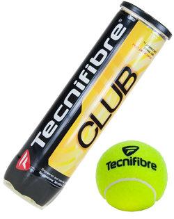 Tenisový míček Club, Tecnifibre - 4 ks