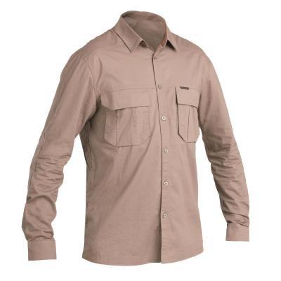 Hnědá lovecká košile Solognac