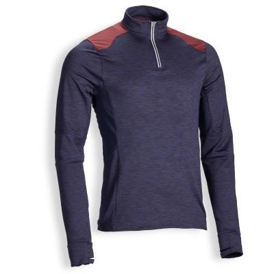 Modré pánské jezdecké tričko Fouganza