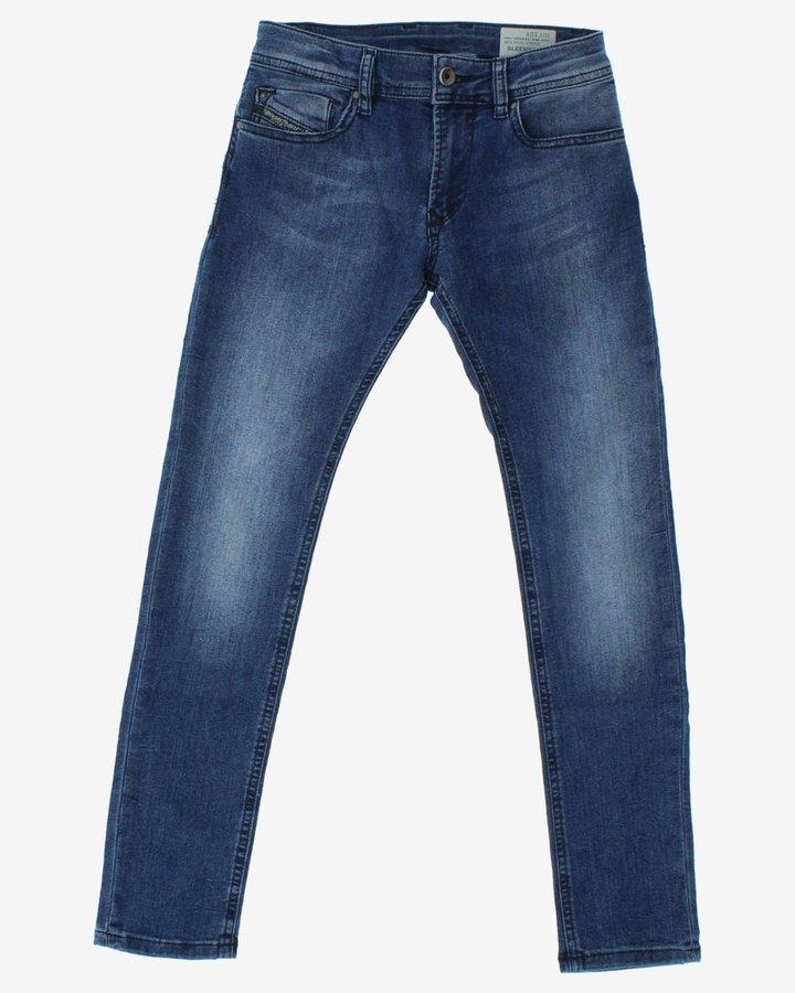 Modré dívčí džíny Diesel - velikost 140