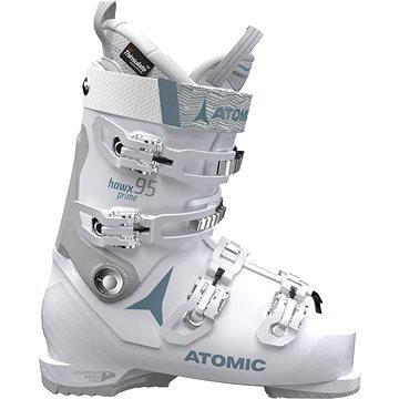 Bílé dámské lyžařské boty Atomic - velikost vnitřní stélky 27 cm