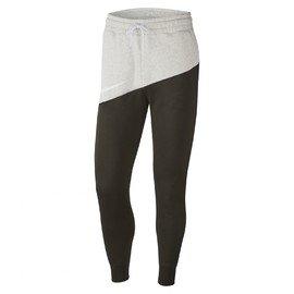 Bílo-černé pánské tepláky Nike