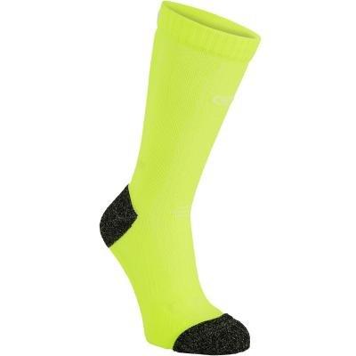Žluté běžecké ponožky Kiprun, Kalenji