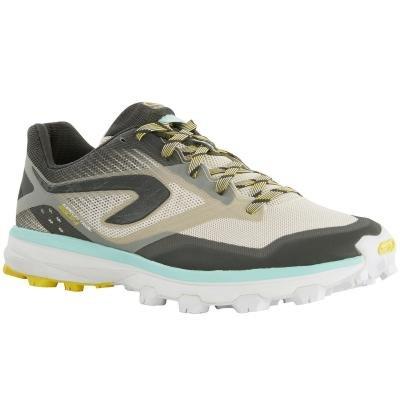 Béžovo-šedé dámské běžecké boty Kalenji