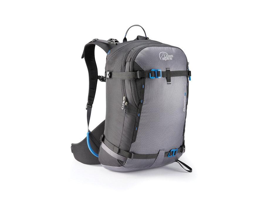 Šedý lavinový skialpový batoh Lowe Alpine - objem 35 l