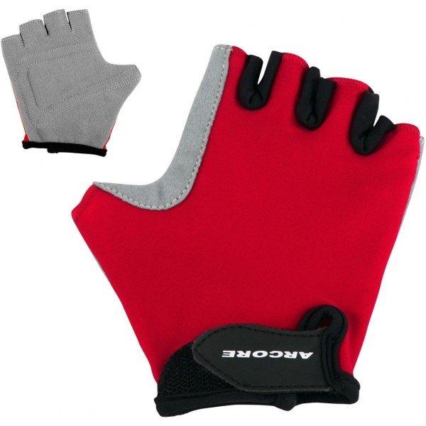 Červené dětské cyklistické rukavice Arcore