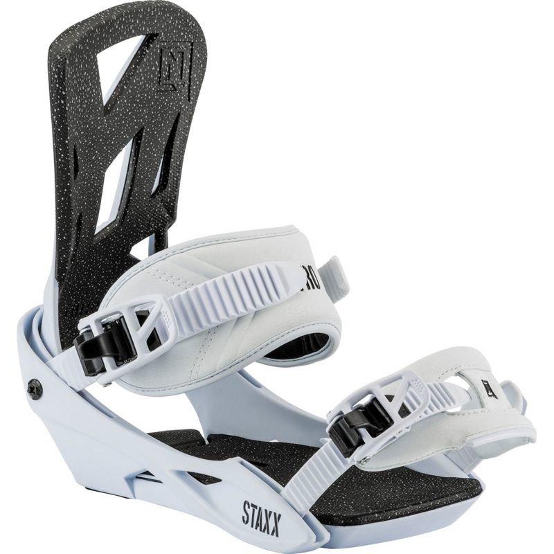 Bílé vázání na snowboard Nitro