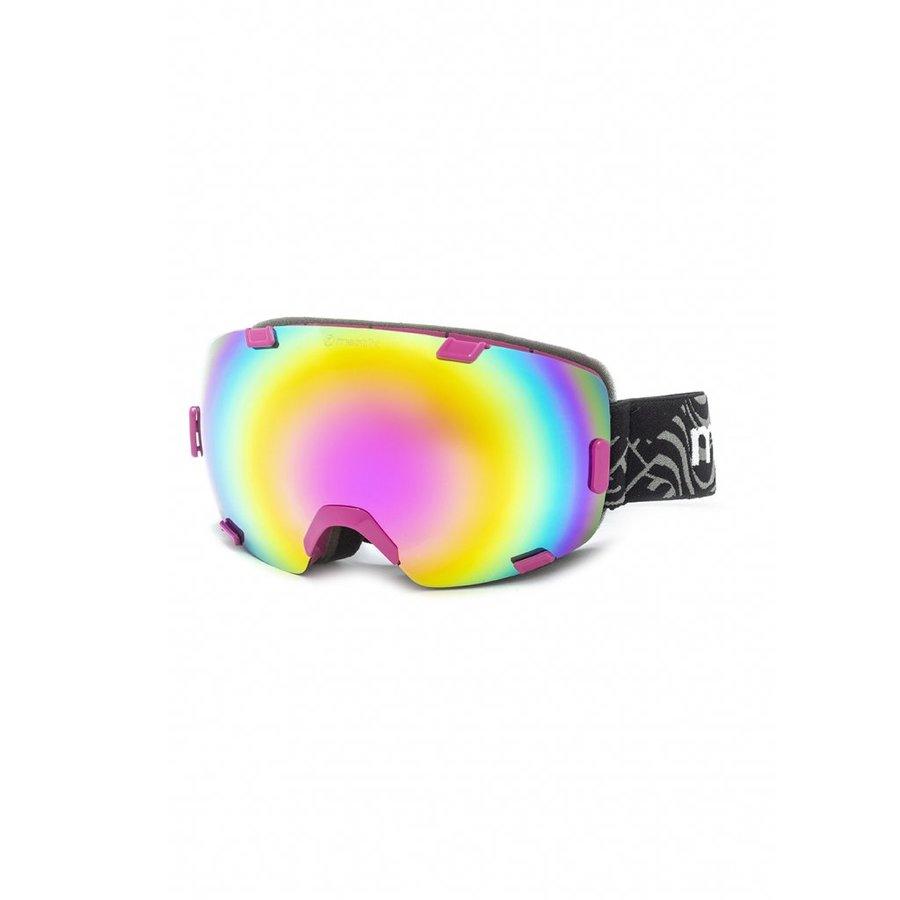 Brýle na snowboard - Meatfly Scout 4 Goggles D - Fuchsia Velikost: JEDNOTNÁ VELIKOST