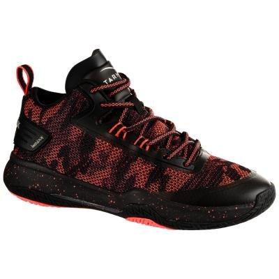 Černo-růžové dámské basketbalové boty SC500M, Tarmak