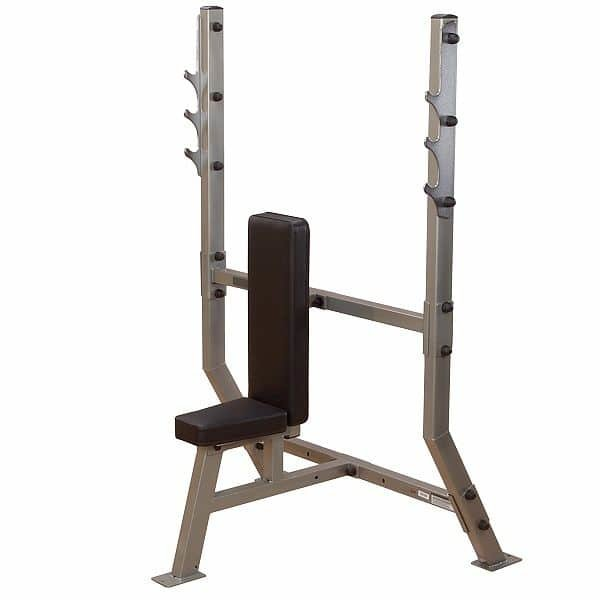 Bench posilovací lavice SPB368G Shoulder Press Bench, Body Solid