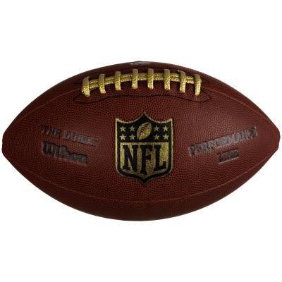 Hnědý míč na americký fotbal NFL Duke Performance, Wilson