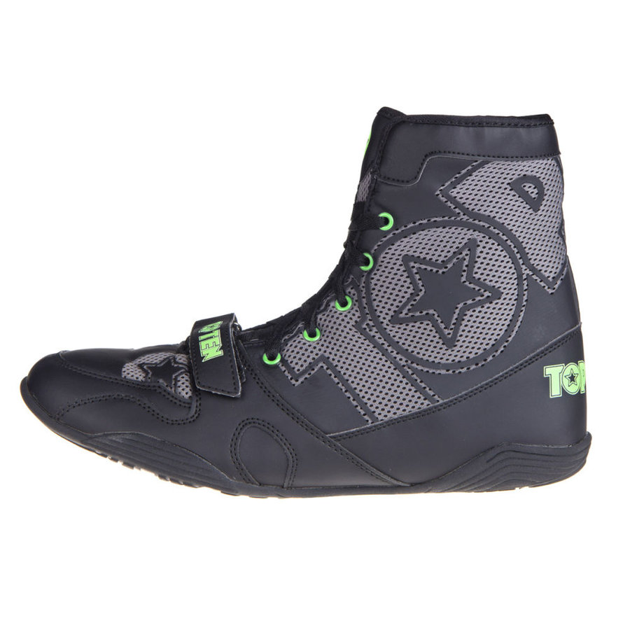 Černé boxerské boty Top Ten